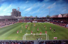 Leyton Orient v Wrexham, Brisbane Road, Play Off Final 1989 - 20'' x 30'' approx poster print